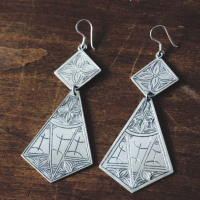 Desert Tribe Freedom Earrings - Jebel Collective Jewelry Product